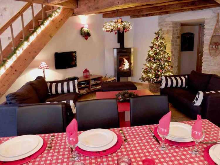 Livingroom accommodation Vercors